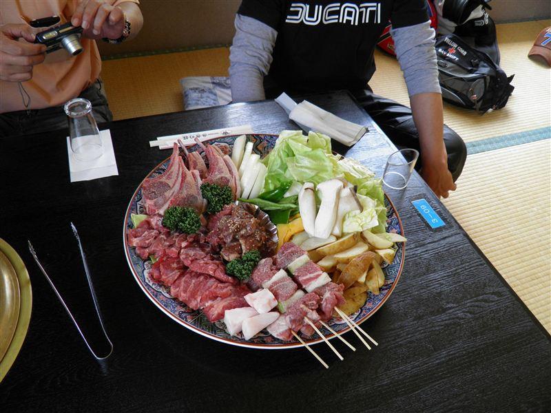 2012.05.05 信州新町さぎり荘BBQ