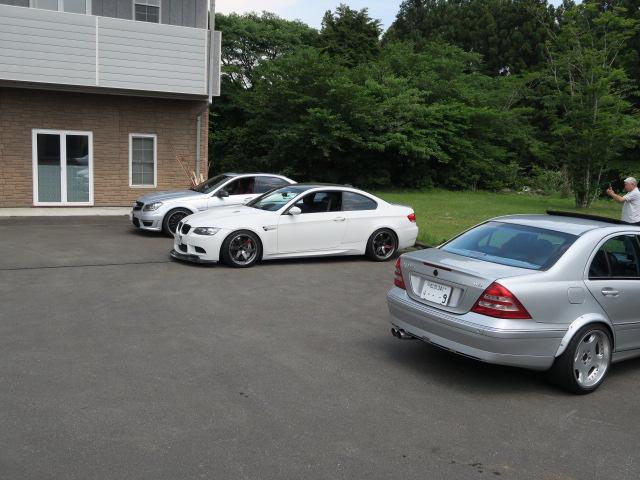 集まった車達1