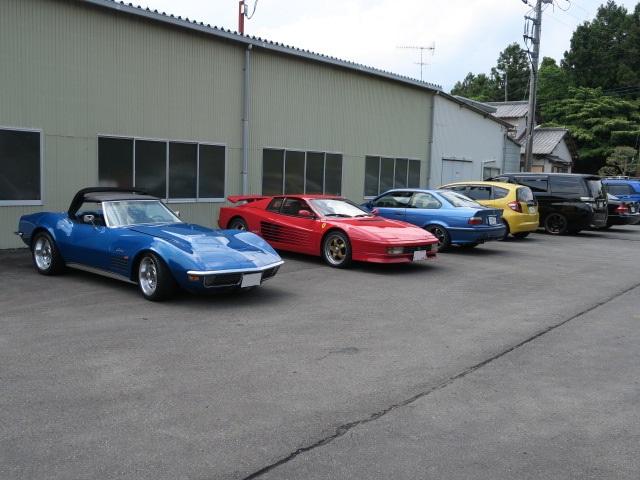 集まった車達3